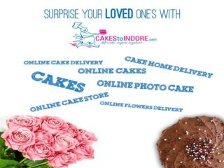 Cakes to indore