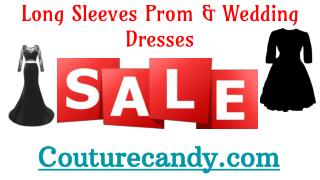 Shop For Long Sleeve Evening & Prom Dresses