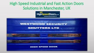 Looking for a Quality High Speed Door Supplier?