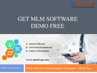 Get Free MLM Software Demo