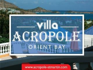 ORIENT BEACH VILLA RENTALS   Acropole-stmartin