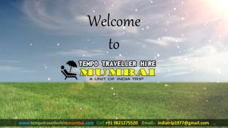 Hire 9 Seater Tempo Traveller in  Mumbai|Book Online.