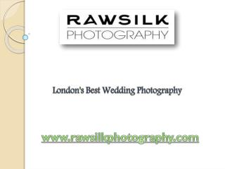 London's Best Wedding Photography