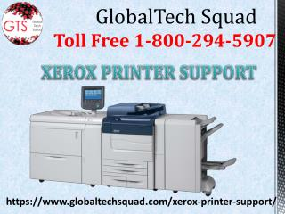 Support For Xerox Printer |  GlobalTech Squad