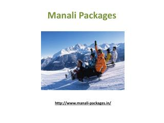 Delhi To Manali Packages - Manali Tour Package