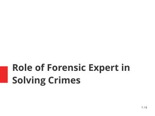 Hire Best Forensic Experts For your Case - Anil Gupta Forensic Services