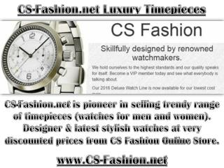 Cs-fashion.net - Buy watches at very discounted prices from CS Fashion Online Store