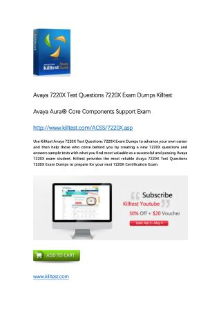7220X Avaya Exam Dumps