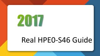 Killtest HP HPE0-S46 Real Exam Questions
