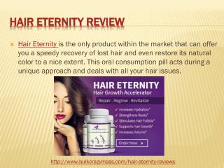 Hair Eternity Price, Buy and Cost