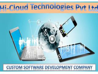 Hi Cloud Technologies  Custom Software development company