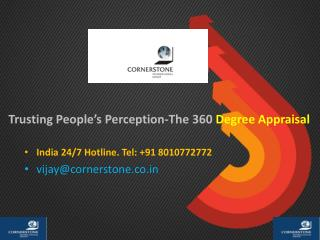 Trusting People's Perception-The 360 Degree Appraisal