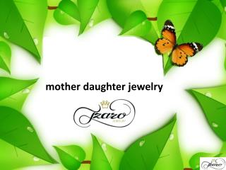 mother daughter jewelry