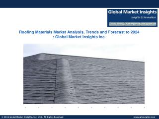 Roofing Materials Market Present Efficiencies and Future Challenges from 2017 to 2024