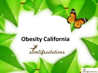 Obesity California