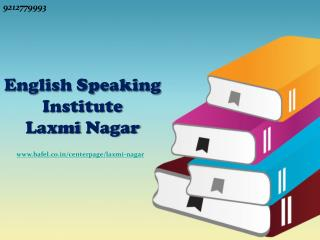 English Speaking Institute Laxmi Nagar