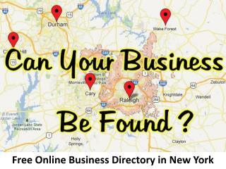 Free Business Listing in New York