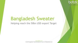 Bangladesh Sweater- The demands with regards to Bangladeshi sweaters are expanding step by step