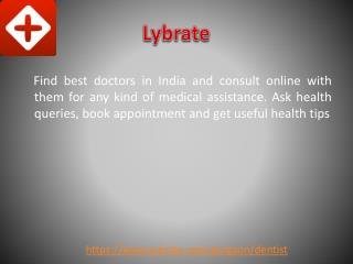 Best Dentist in Gurgaon | Lybrate
