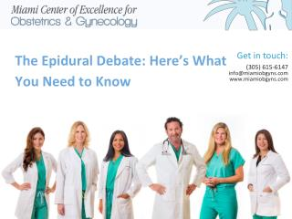 The Epidural Debate: Here's What You Need To Know