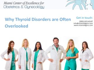 Why Thyroid Disorders are Often Overlooked