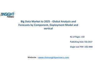 Big Data Market Shares, Strategies, and Forecasts, Worldwide, 2016 to 2025 |The Insight Partners