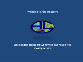 Cheap Transport Company Sydney Container Transport Sydney