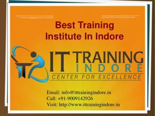Best Training Institute In Indore – IT Training Indore