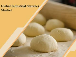Global Industrial Starches Market