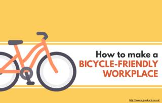 Three tips create a bicycle-friendly workplace
