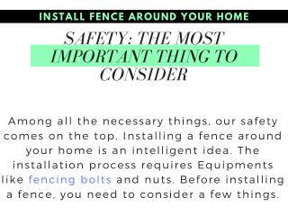 Main Things To Consider When Choosing Fencing For Property