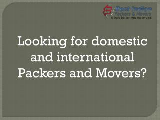 How to Choose Packers and Movers Chandigarh