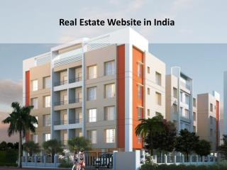 real estate website in India