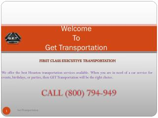 Affordable Airport Luxury Limousine Transportation Services