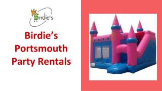 Portsmouth Party Rentals - Birdie's