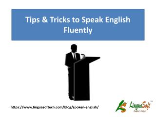 Tips & Tricks to speak English fluently