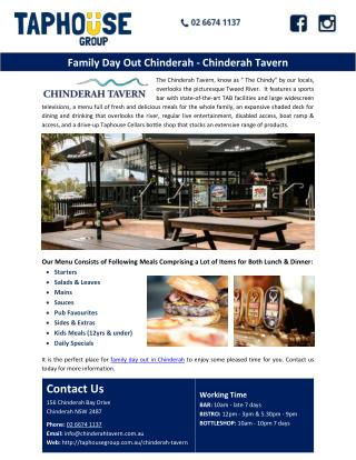 Family day out in Chinderah-Chinderah Travern