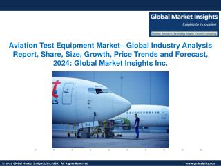 Global Aviation Test Equipment Market: Industry Analysis and Opportunity Assessment 2017 - 2024
