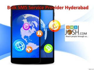 Bulk SMS Service Provider Hyderabad | Bulk SMS Costs In Hyderabad