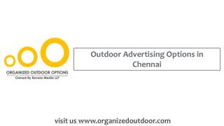 Outdoor Advertising Agency in India