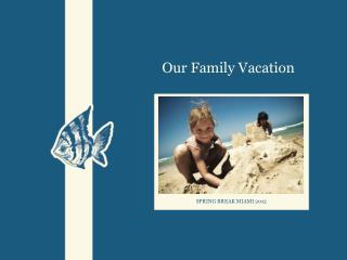 Our Family Vacation