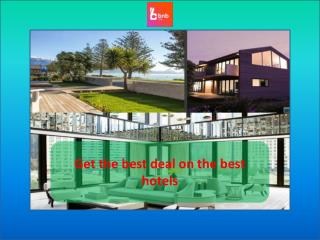 Get the best deal on the best hotels