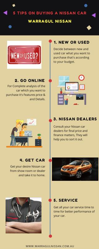 Nissan car dealers Melbourne - Warragul Nissan