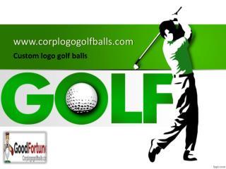 Custom Logo Golf Balls Cheap