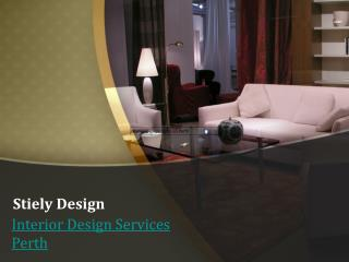 Best Commercial Interior Designers Perth - Stielydesign.com