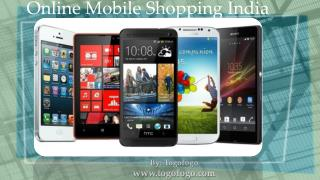 Online Mobile Shopping India