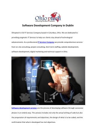 Software Development Company in Dublin