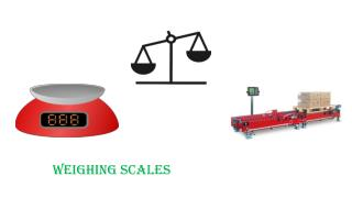 Weighing Scales and Their Types