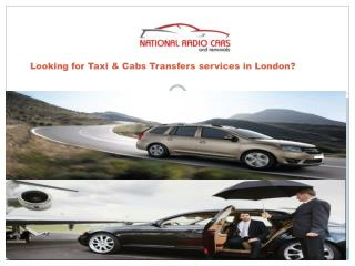 Looking for Taxi & Cabs Transfers services in london
