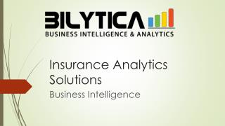 Insurance Analytics Solutions for Business Management